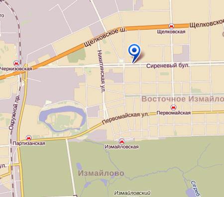 КВД в ВАО Москвы